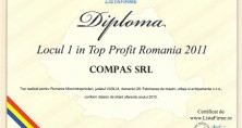 1st place in Top Profit Romania 2011